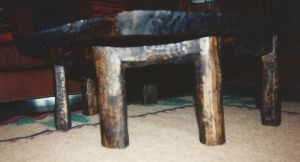 6 Legged Rustic Coffee Table